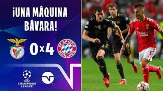 ¡PERFECTA MAQUINARIA BÁVARA! I RESUMEN: BENFICA 04 BAYERN MÚNICH I UEFA CHAMPIONS LEAGUE