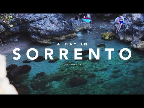 ITALY TRAVEL DIARY | A Day in Sorrento Ep. 4 // Malia K. Reed