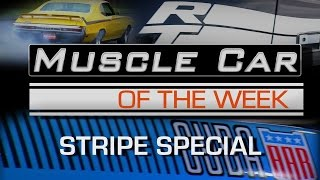 Stripes and Smoke - The Coolest Muscle Car Graphics! Muscle Car Of The Week Video Episode #194