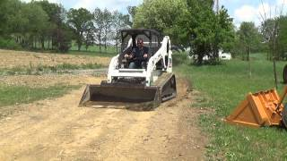 2004 BOBCAT T190 TRACK SKID STEER WITH CAB ENCLOSURE