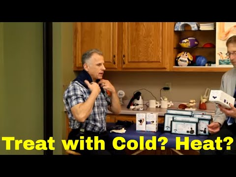 Treat With Cold? Heat? Trigger Points, Muscle Injuries, Sprains-Back, Neck, Shoulder, & Knee Pain)