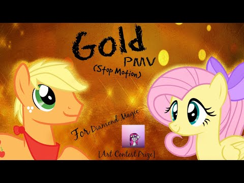 Gold PMV (Stop Motion) - For Diamond Magic [Art Contest Prize]