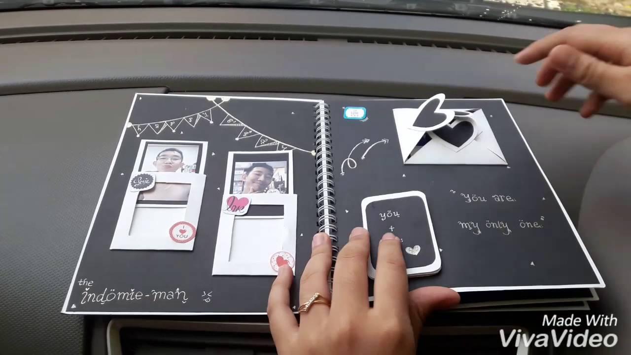 Diy mini album scrapbook for boyfriend 2014 youtube - Birthday Scrapbook For Boyfriend Diy By Hanieta Youtube Birthday Scrapbook For Boyfriend Diy By Hanieta Salsuba