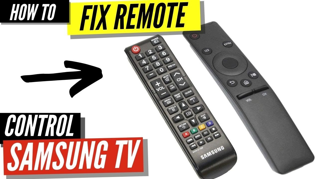 How To Fix A Samsung Remote Control That S Not Working Youtube