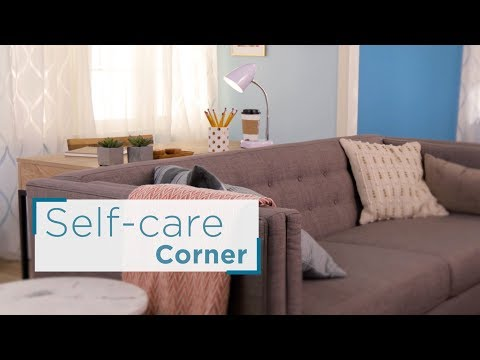 Ideas for Creating a Self Care Space