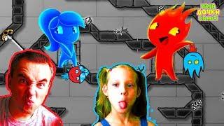 Download ПРИКЛЮЧЕНИЯ ОГОНЬ и ВОДА в Хрустальном храме # 2. Развлекательное видео для детей. Игровой мультик Mp3 and Videos
