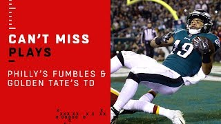 Philly Fumbles Twice on Opening Drive, but Still Gets the TD!