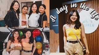 A DAY IN MY LIFE AS A YOUTUBER, FRIEND, ETC! | ASHLEY SANDRINE