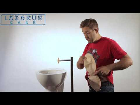 How to clean your ostomy pouch LAZARUS ™ Ostomy Pouch Cleaning Device
