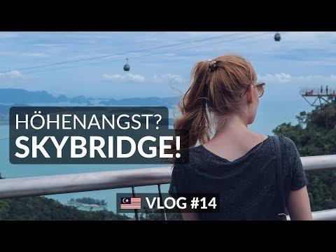 NICHTS FÜR SCHWACHE NERVEN ★ Skybridge Langkawi | Malaysia ★  Vlog #14