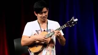 Jake Shimabukuro - While My Guitar Gently Weeps (at GOOGLE)