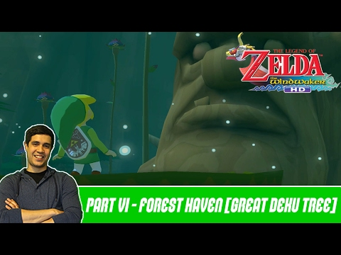The Legend of Zelda WindWaker HD - Episode 6 | Forest Haven & The Great Deku Tree