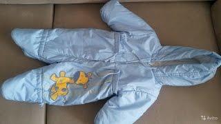 Как шьеться детский комбинезон . Детская одежда под ключ