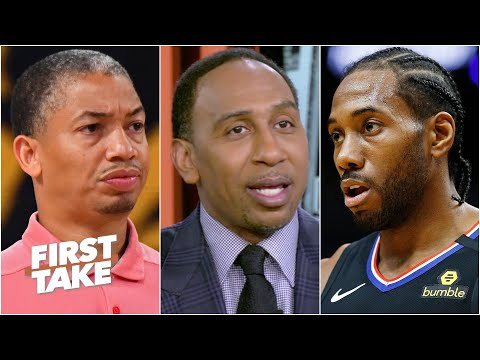 Stephen A. on Lue to the Clippers: Ty Lue has to get in Kawhi & Paul George's faces! | First Take
