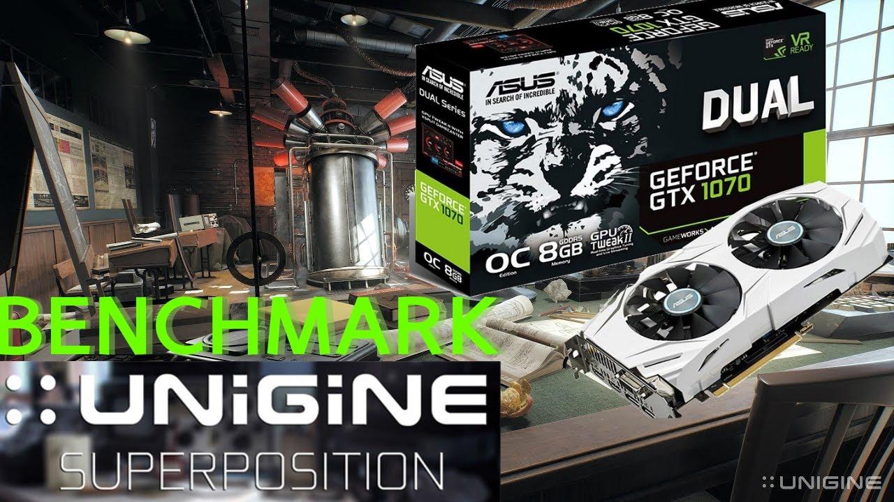 UNIGINE 2 Superposition Benchmark | ASUS Dual GeForce GTX 1070 O C 8Gb GDDR5