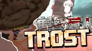 LOS SUSCRIPTORES DEFIENDEN TROST | SNK - Attack On Titan Tribute Game