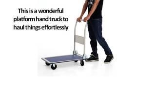 Heavy Steel Folding Trolley