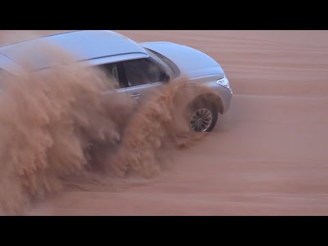 Desert Safari in Dubai Nissan Patrol vs Toyota Land Cruiser www.trainhard.ee