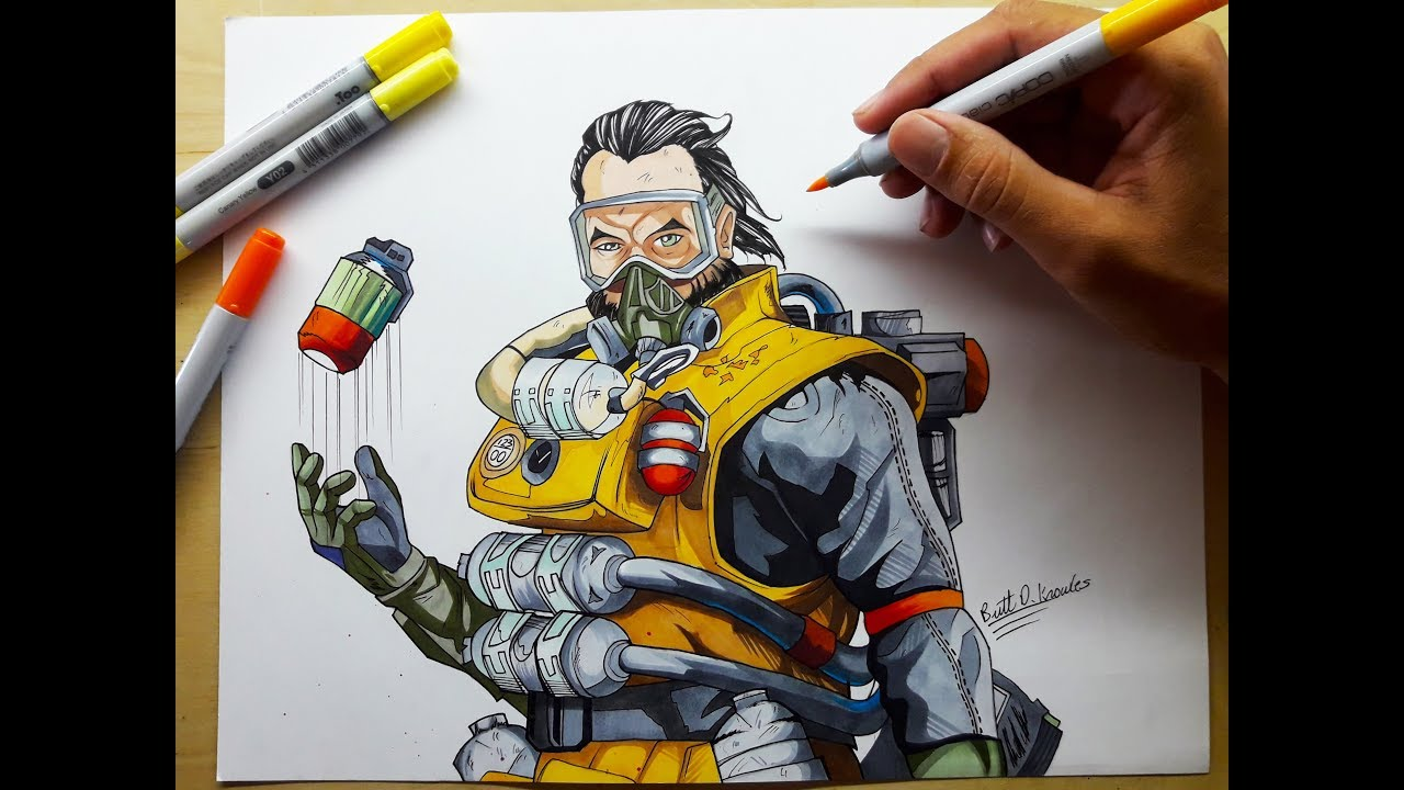 Epic Apex Legends Drawing
