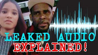 Leaked Audio *EXPLAINED* Proof R. Kelly Bamboozled Jocelyn Savage Music Career | @TonyaTko Reacts