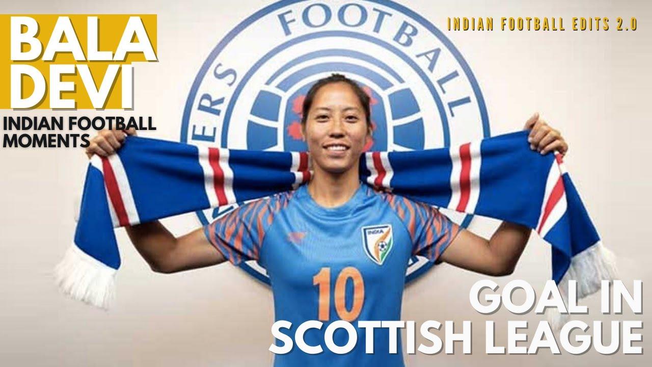 Download Bala Devi's 30-yard stunning goal in Scottish League II  Rangers Women's FC vs Spartans FC women