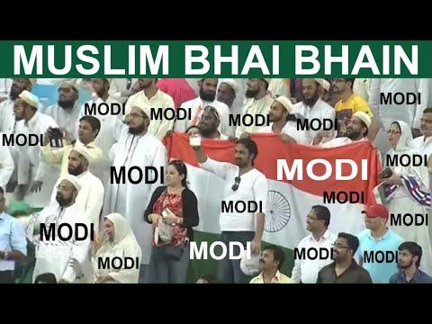 Bharat Mata Ki Jai |   Modi Modi Modi By Muslims Peoples