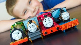 Thomas and Friends TrackMaster Emily Rheneas Ferdinand Dash Toy Train Unboxing