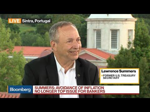 Summers on U.S. Economy, Inflation and `Secular Stagnation'