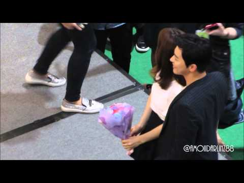 150904 Kdrama Oh My Ghost - Park Bo Young & Jo Jung Suk in Singapore (5)