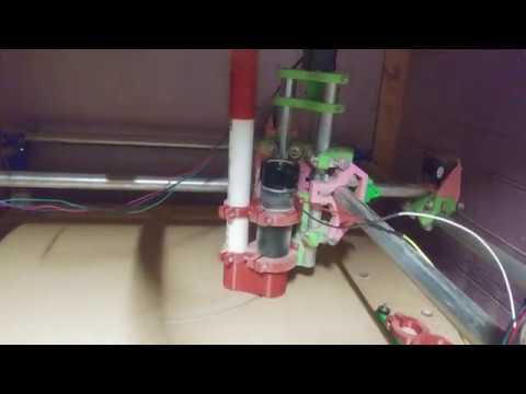 mpcnc shop vac and 500 watt spindle