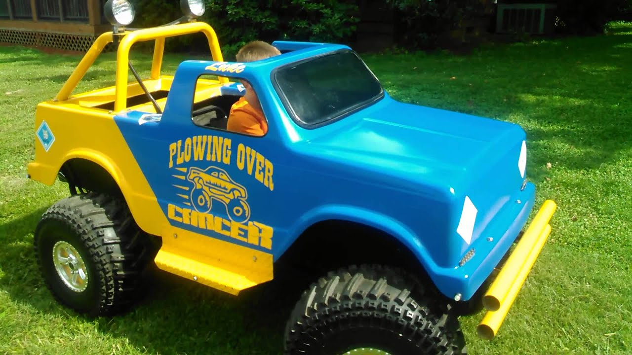 Carter Brothers Mini Monster Truck For Sale Part 2