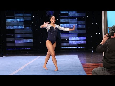 The Hip Hop Gymnast Performs