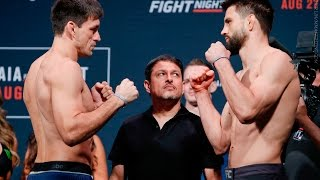 UFC on FOX 21 Weigh-In Highlights