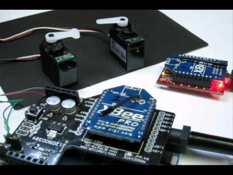 Arduino Servo Control Through Serial And XBee