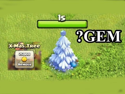 Remove X-mas Tree In Clash of Clans Winter Update December 2017 Christmas Coming!!! Thang COC