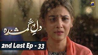 Dil-e-Gumshuda - 2nd Last EP 33 - 13th Nov 2019 - HAR PAL GEO