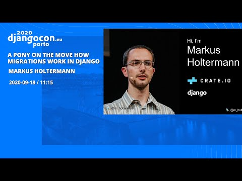 Image from A Pony On The Move: How Migrations Work In Django 🐎 - Markus Holtermann