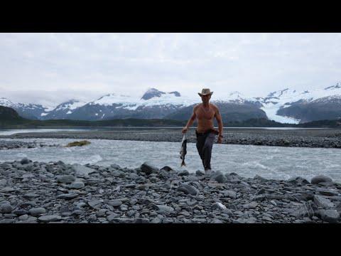 Coastal Alaska. Camping In The Land Of Salmon And Black Bears.