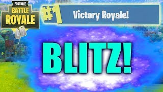 Fortnite BLITZ GAMEPLAY DETAILS! New Limited Time Mode Blitz