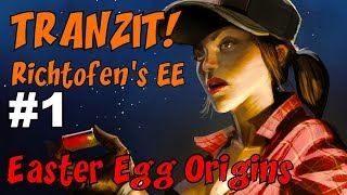 CoD Zombies EASTER EGG ORIGINS - TRANZIT: Richtofen