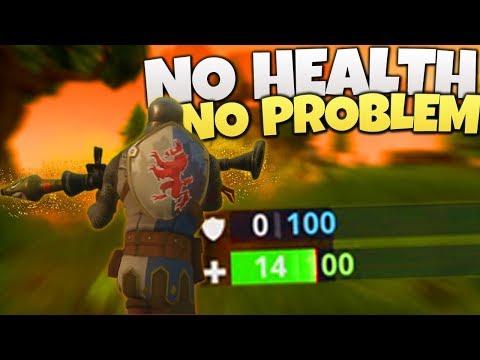 No Health No Problem! - PS4 Fortnite Battle Royale LIVE (PS4 Fortnite Gameplay)
