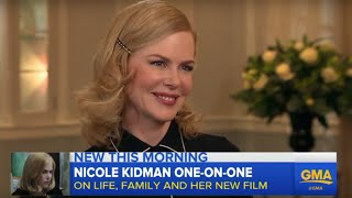 Nicole Kidman Talks New Film and Family