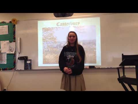 Canterbury Tales Characters Video
