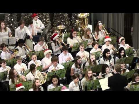 10 Rosemount Middle School Band at MOA 2011-12-19
