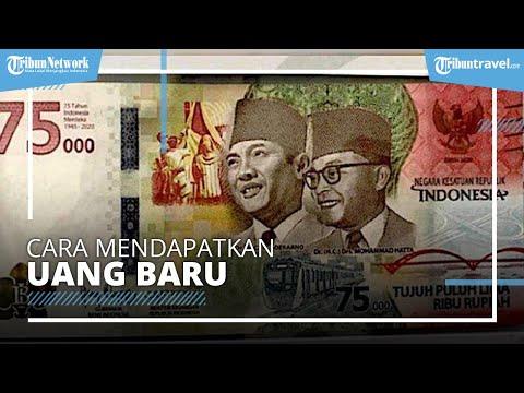 Bank Indonesia Merilis Mata Uang Baru Pecahan Rp75 Ribu, Begini Cara Mendapatkannya