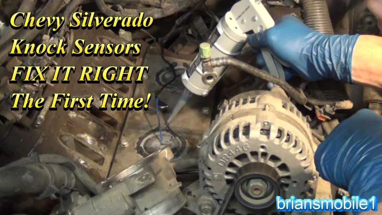 maxresdefault chevy silverado knock sensors fix it right the first time youtube how to test knock sensor harness at gsmx.co