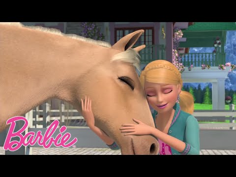 Барби и ее сестры встречают лошадей 🐴Barbie и сестры в Сказке о пони 🌈 мультфильмы 💖фильмов Барби