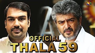 THALA 59 Official - Rangaraj Pandey Joins With Team ? | Ajith |  | Thala 60 | #Ak59 , #AK60