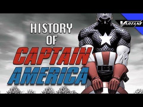 History Of Captain America!