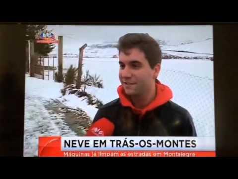 Neve em Padornelos Montalegre - Natal 2013